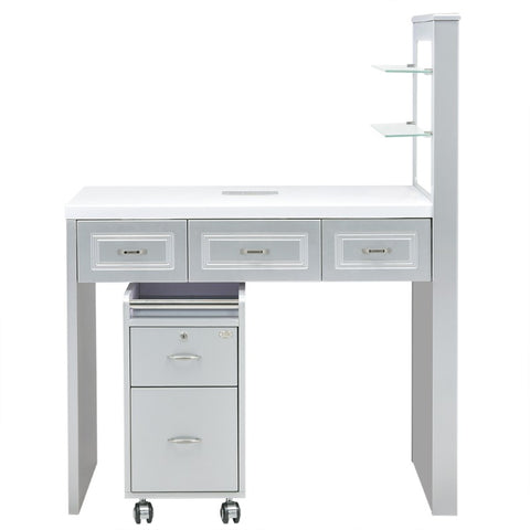 Image of Dream In Reality DIR Quar Manicure Nail Table Manicure Table - ChairsThatGive