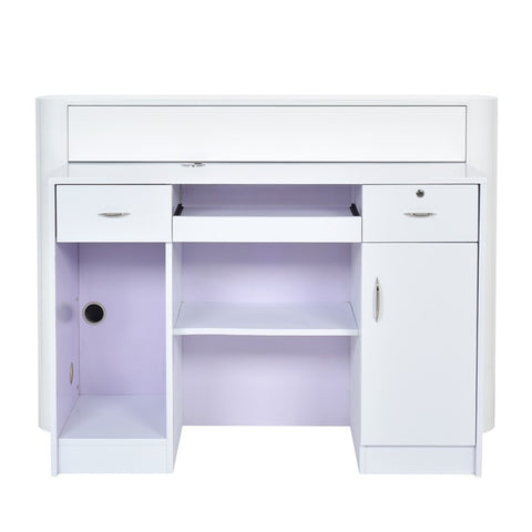Dream In Reality DIR Acquario Reception Desk with LED Lighting Reception Desk - ChairsThatGive
