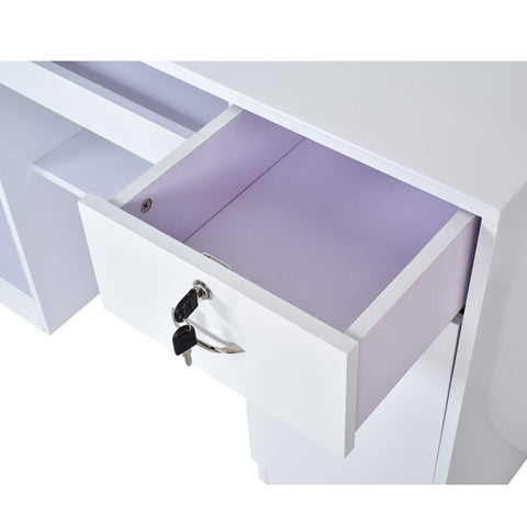 Image of Dream In Reality DIR Acquario Reception Desk with LED Lighting Reception Desk - ChairsThatGive