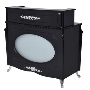 Dream In Reality DIR Georgian Reception Desk with LED Lighting Reception Desk - ChairsThatGive