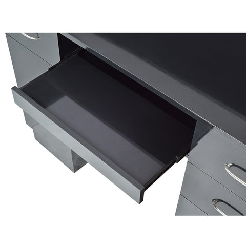 Dream In Reality DIR Langara Reception Desk with LED Lighting Reception Desk - ChairsThatGive