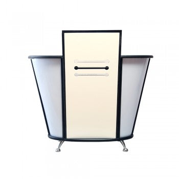 Image of Dream In Reality DIR Eternity Reception Desk with LED Lighting Reception Desk - ChairsThatGive