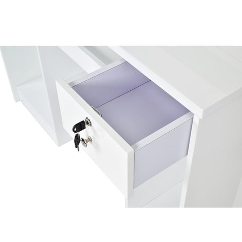 Image of Dream In Reality DIR Gattino Reception Desk with LED Lighting Reception Desk - ChairsThatGive