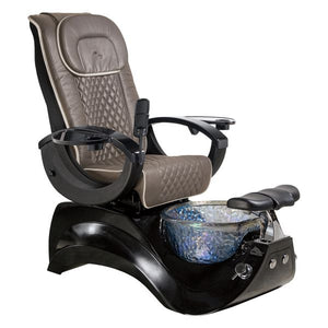 Whale Spa Whale Spa Pedicure Chair Alden Crystal with Free Trolley & Stool Pedicure Chair - ChairsThatGive