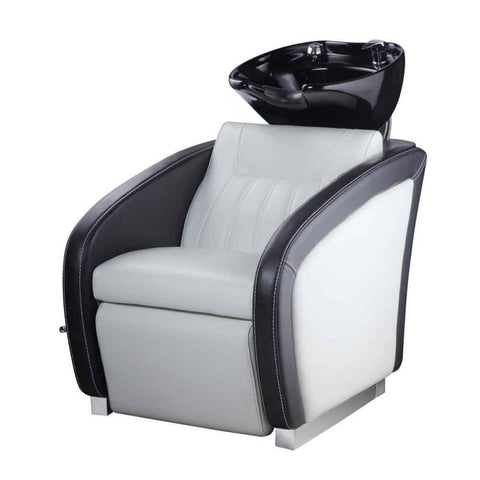 Image of Dream In Reality DIR Anode Shampoo Backwash Unit with Adjustable Leg Rest Shampoo & Backwash Unit - ChairsThatGive