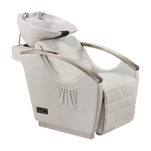 Dream In Reality DIR Bella III - Shampoo Backwash Unit with Massage & reclining backrest & electrical leg rest Shampoo & Backwash Unit - ChairsThatGive