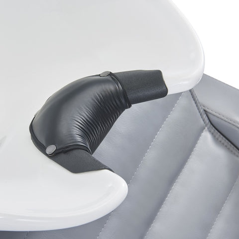 Image of Dream In Reality DIR Bella III - Shampoo Backwash Unit with Massage & reclining backrest & electrical leg rest Shampoo & Backwash Unit - ChairsThatGive
