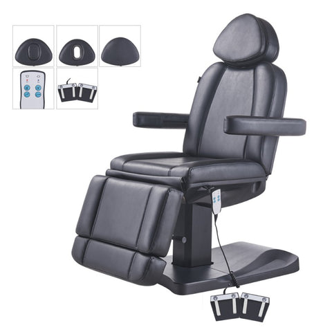 Image of Dream In Reality DIR Ink Facial Beauty Bed & Chair - Electrical Hand & Foot Remote Facial Chairs - ChairsThatGive