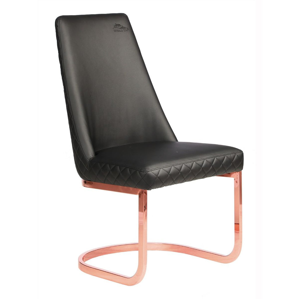 Whale Spa Diamond - Rosegold Acetone Safe Customer Chair