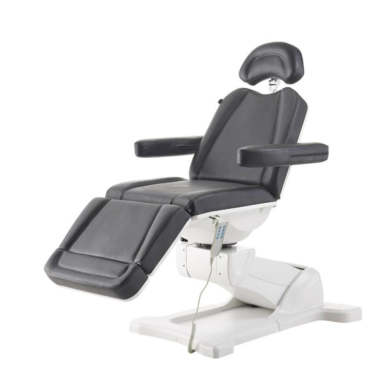 DIR Pavo - Full Electrical with 4 Motors Black Facial Beauty Bed & Chair