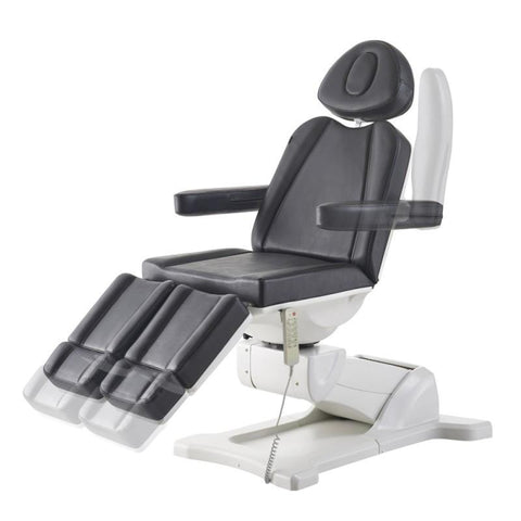 Image of Dream In Reality DIR Libra - Black Full Electrical with 5 Motors Facial Beauty Bed & Chair Facial Chairs - ChairsThatGive