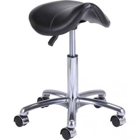 Dream In Reality DIR Nero Salon Stool Salon Stools - ChairsThatGive