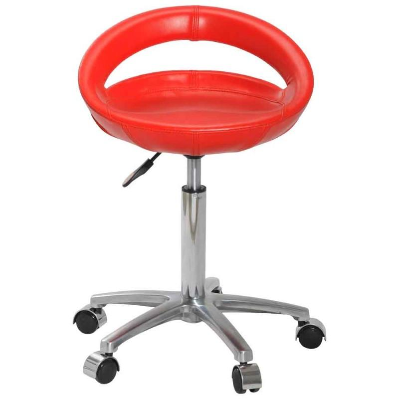 Dream In Reality DIR Fosco Salon Stool Salon Stools - ChairsThatGive