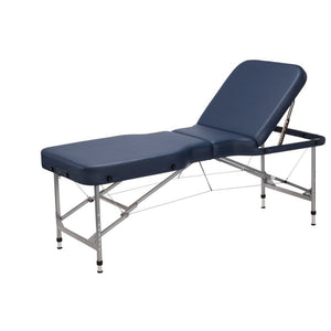 Equipro Equipro Calypso - Aluminium Folding Massage Table with Djustable Back-Rest Portable Massage Tables - ChairsThatGive