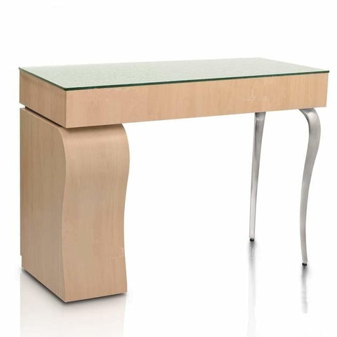 Image of Gulfstream Gulfstream Camellia Single Nail Table Manicure Nail Table - ChairsThatGive