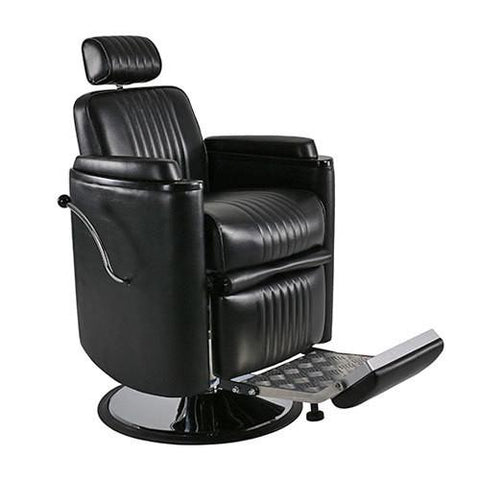 Image of Keller International Keller International Barrel Barber Chair Barber Chairs - ChairsThatGive