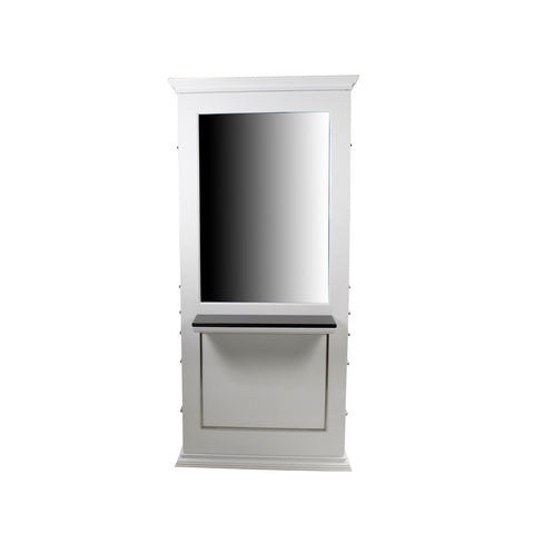 Image of Berkeley Berkeley Artemis Classic Tall Double sided Styling Station with Mirror Work Station - ChairsThatGive