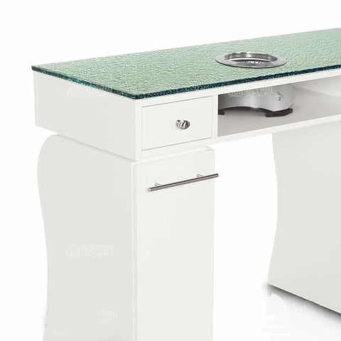 Image of Gulfstream Gulfstream La Rose Double Manicure Nail Table Manicure Nail Table - ChairsThatGive