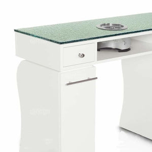 Gulfstream Gulfstream La Rose Double Manicure Nail Table Manicure Nail Table - ChairsThatGive