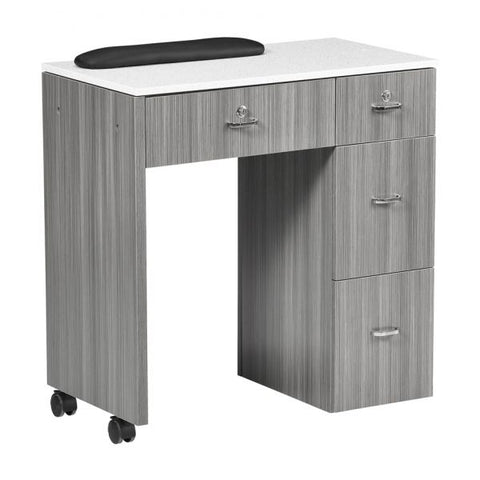Whale Spa NM904 Portable Space Saving Manicure Table
