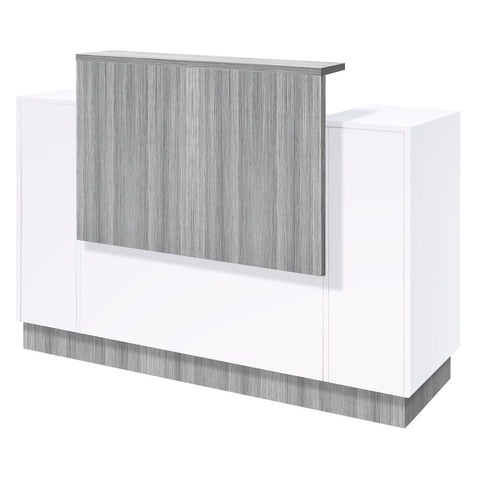 Image of Whale Spa Whale Spa SC06 Reception Desk with Free Nail Salon Task Stool Reception Desk - ChairsThatGive