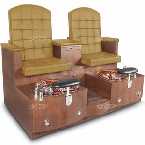 Gulfstream Gulfstream Paris Double Bench Spa & Pedicure Chair Pedicure & Spa Chairs - ChairsThatGive