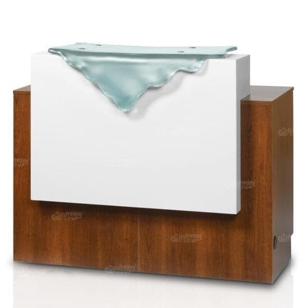 "Gulfstream Gulfstream 46"" Paris Reception Desk Reception Desk - ChairsThatGive"
