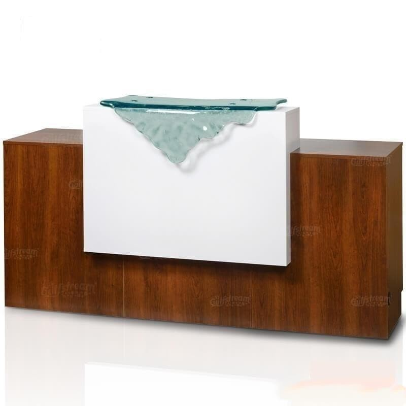 Gulfstream Gulfstream 69 Inch Paris Reception Desk Reception Desk - ChairsThatGive