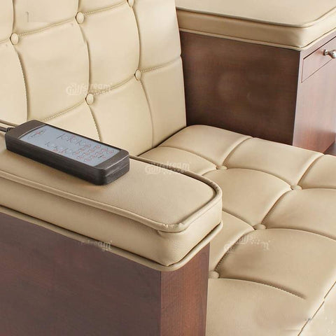 Image of Gulfstream Gulfstream Paris Single Bench Spa & Pedicure Chair Pedicure & Spa Chairs - ChairsThatGive