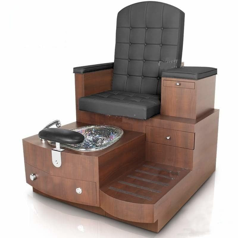 Gulfstream Paris Single Bench Spa and Pedicure Chair w Spider Stool ...