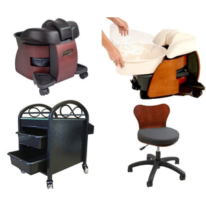 Continuum Continuum Pedicute Deluxe Portable Spa Package Pedicure & Spa Chairs - ChairsThatGive