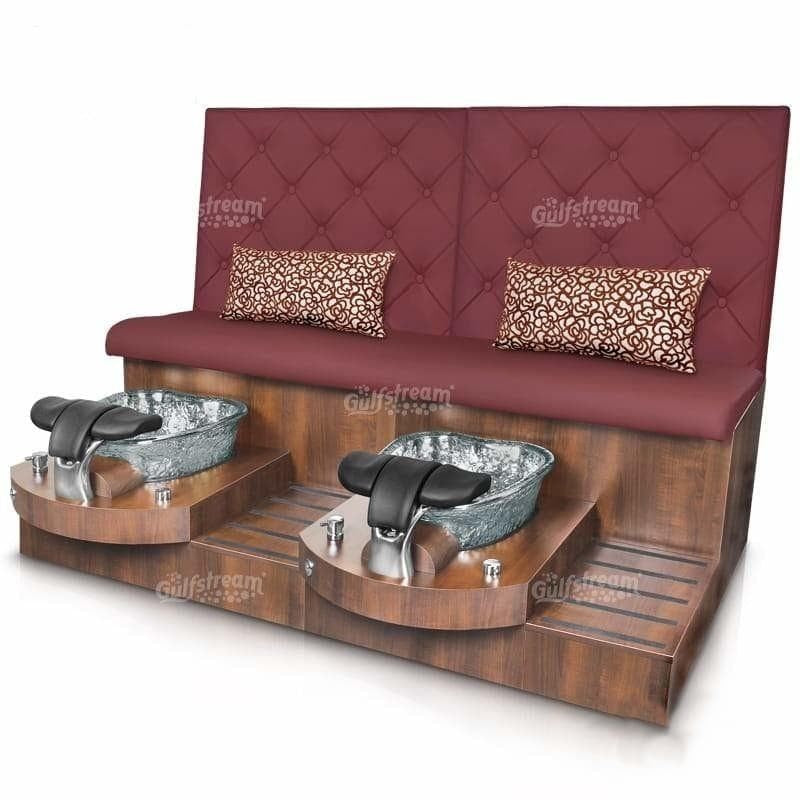 Gulfstream Gulfstream Selena Double Bench Spa & Pedicure Chair Pedicure & Spa Chairs - ChairsThatGive
