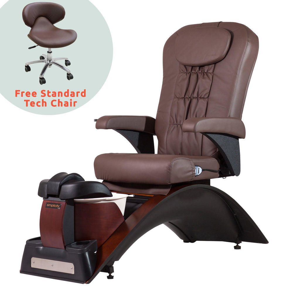 Continuum Continuum Simplicity SE Pedicure Spa Chair Pedicure & Spa Chairs - ChairsThatGive
