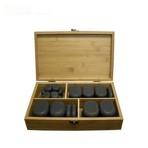Dermalogic Dermalogic 36 Piece Polish Massage Stone Set Massage Stones - ChairsThatGive