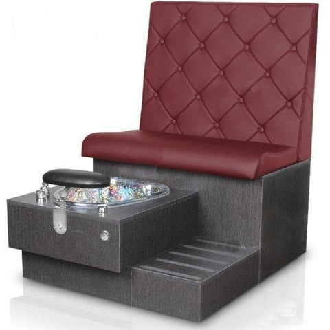 Image of Gulfstream Gulfstream Tiffany Single Bench Spa & Pedicure Chair Pedicure & Spa Chairs - ChairsThatGive