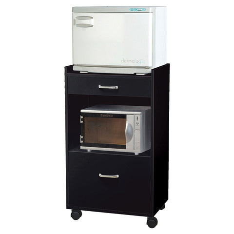 Image of Whale Spa Rolling Trolley with Hot Towel Cabinet & Sterilizer Machine