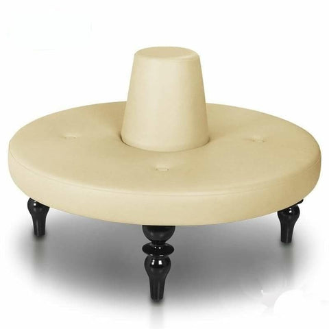 Gulfstream Gulfstream Tuffet Round Waiting Table Customer & Waiting Chairs - ChairsThatGive