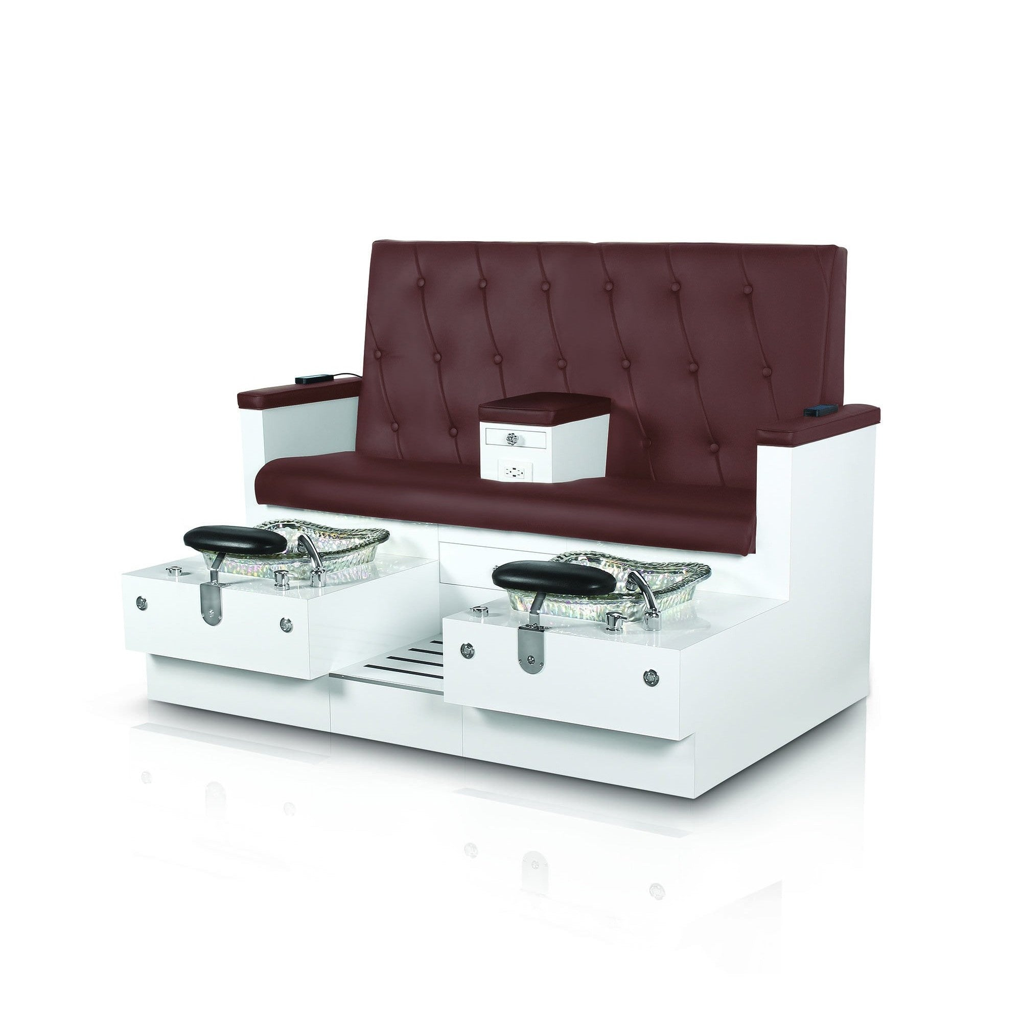Gulfstream Gulfstream Vienna Double Pedicure Chair Bench Pedicure & Spa Chairs - ChairsThatGive