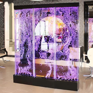 Gulfstream Gulfstream 7' Tall Full Color LED Programmable WaterWall Display Salon Decoration - ChairsThatGive