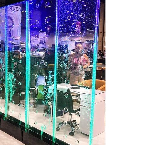 Image of Gulfstream Gulfstream 7' Tall Full Color LED Programmable WaterWall Display Salon Decoration - ChairsThatGive