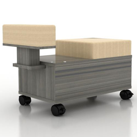 Image of Mayakoba Mayakoba Alera Pedicure Cart with Footrest Work Station - ChairsThatGive
