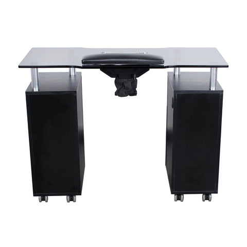 Dermalogic Dermalogic Glasglow Manicure Table with Fan Manicure Nail Table - ChairsThatGive
