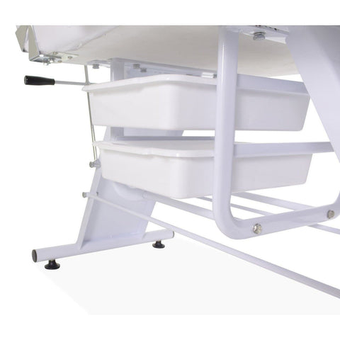 Image of Dermalogic Dermalogic Parker Facial Bed & Stool Facial Chairs - ChairsThatGive