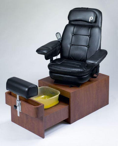 Image of Pibbs Portable No Plumbing Pedicure Spa Chair PS88 Sorrento