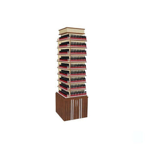Berkeley Mayakoba Verona II Polish Center Nail Polish Rack - ChairsThatGive