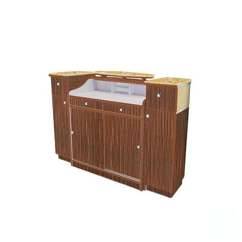 Image of Mayakoba Mayakoba Verona II Reception Table Reception Desk - ChairsThatGive