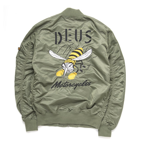 DEUS EX MACHINA TEAMS UP WITH ALPHA INDUSTRIES