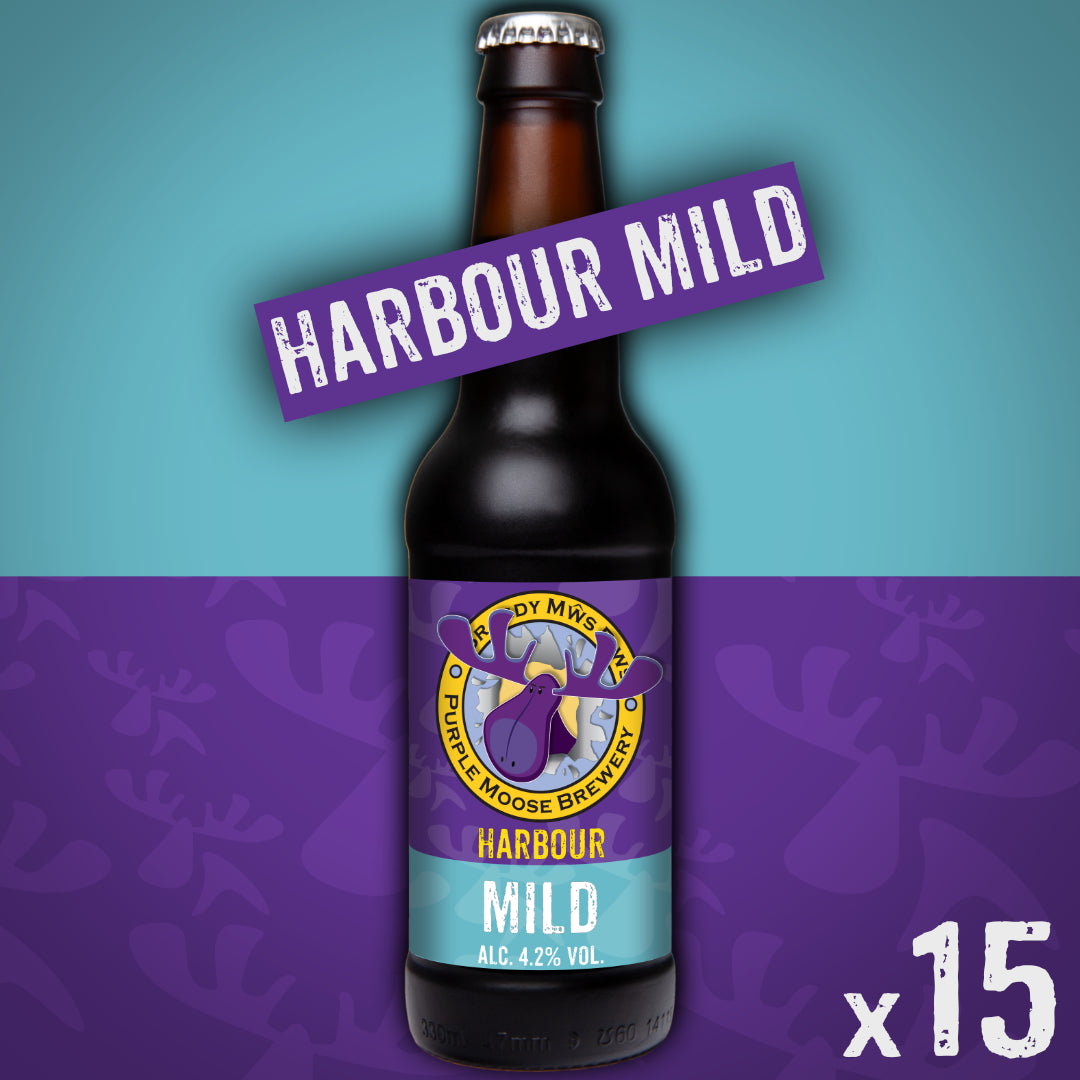 Harbour Mild (case 15 x 330ml bottles)