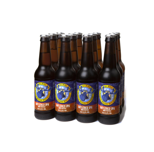 Antlered IPA (case 15 x 330ml bottles)