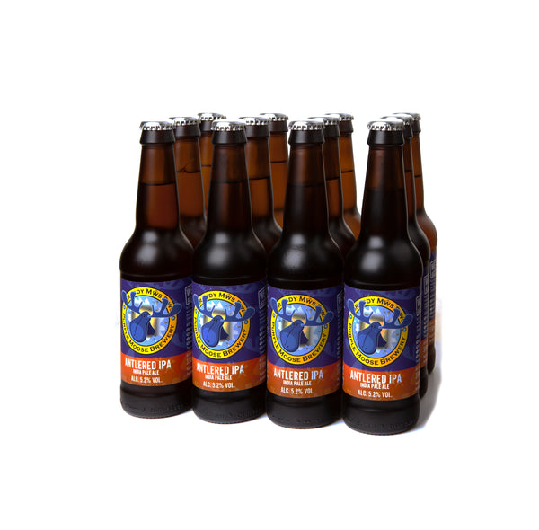 Antlered IPA (case 12x 330ml bottles)